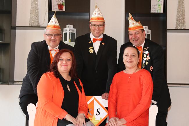 Foto des Vorstandes des Keethner Spitzen e.V.